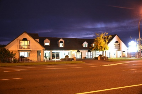Camelot on Ulster Road View at Night